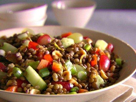 yesil mercimek salatasi tarifi