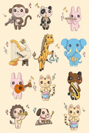 Animal Band iphone ipad oyun