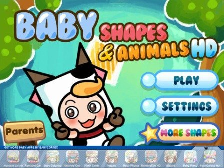 Baby Shapes ipad oyun