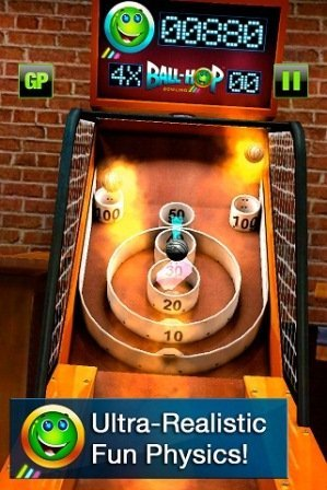 Ball hop bowling iphone ipad oyunu