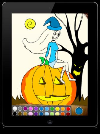 Coloring Book ipad oyun