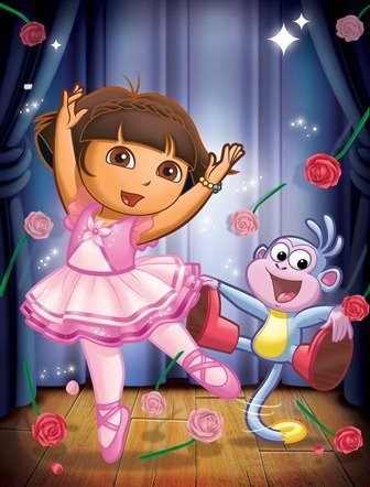 Dora Ballet iphone oyun.jpg