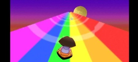 Dora Rainbow ride oyun2