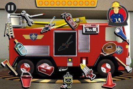 Fireman Sam iphone ipad itfaiyeci oyunu1