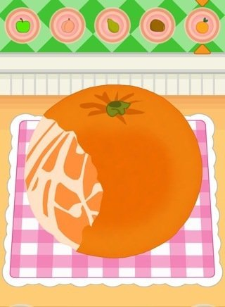 Fruitpeeler iphone ipad oyun