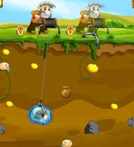 Gold miner iphone ipad oyun1