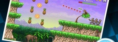 Monkey Fligts; iphone ipad oyun