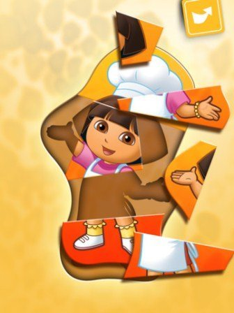 Play with Dora ipad oyun