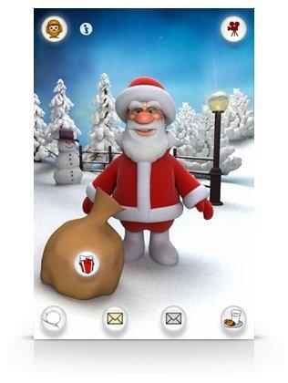 Talking Santa iphone oyun
