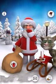 Talking Santa iphone oyun1