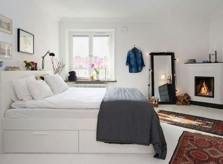 İskandinav tarzı yatak odaları - Yatak Odaları Süslemeleri
