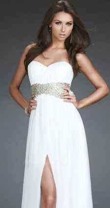 Beyaz Abiye Elbise Modelleri2