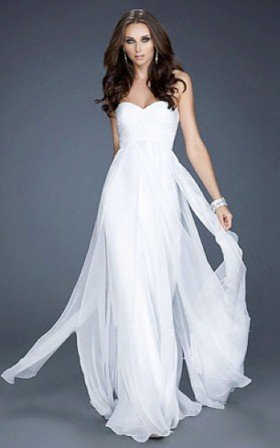 Beyaz Abiye Elbise Modelleri3