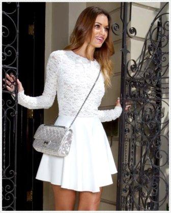 Beyaz Dantel Elbise Modelleri - Beyaz dantel Abiye Elbise Modelleri1