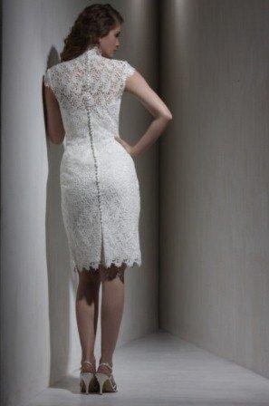 Beyaz Dantel Elbise Modelleri - Beyaz dantel Abiye Elbise Modelleri5