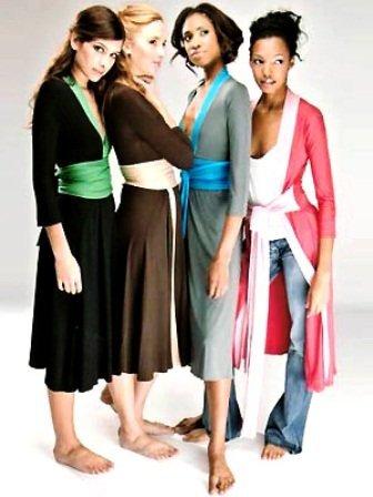 Kimona elbise modelleri