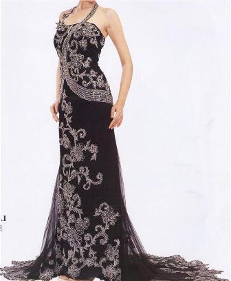 Siyah Abiye Elbise Modelleri2