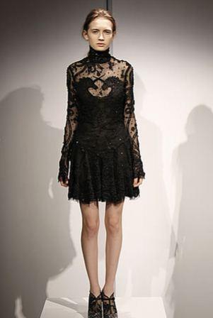 Siyah Dantel Elbise Modelleri - Abiye Elbise Modelleri1