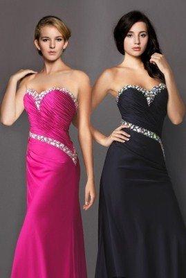Uzun Mezuniyet Elbisesi Modelleri - siyah , pembe mezuniyet elbisesi modelleri