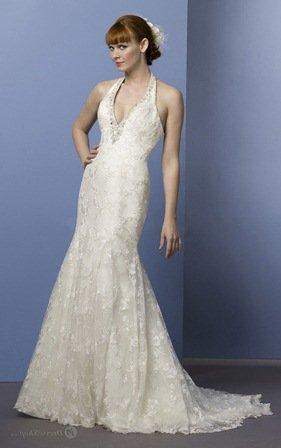 beyaz dantel uzun abiye elbise modelleri