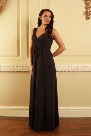 sade Siyah Abiye Elbise Modelleri