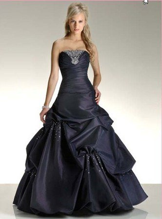 siyah mezuniyet elbisesi modelleri
