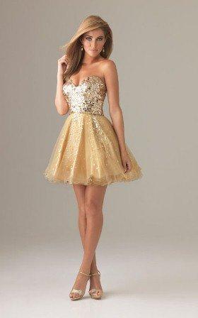 straplez mezuniyet elbisesi modeli