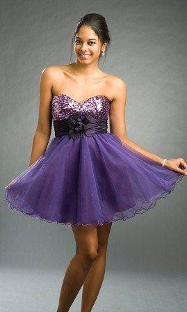 straplez mezuniyet elbisesi modeli1