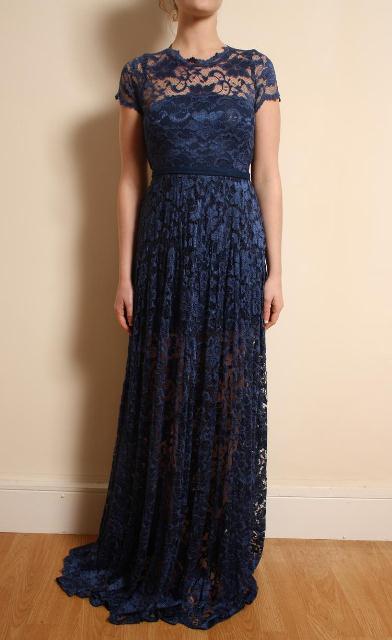 2013 uzun dantel elbise modelleri