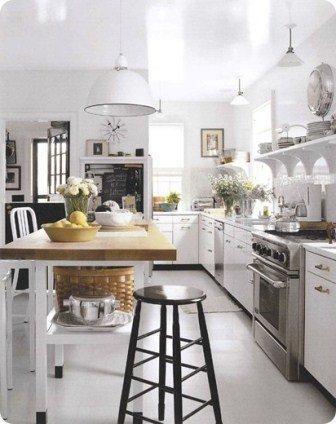 beyaz mutfak avizesi