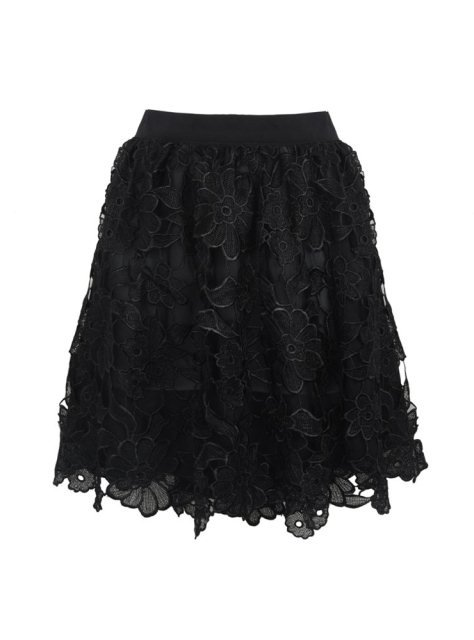 siyah dantel etekler