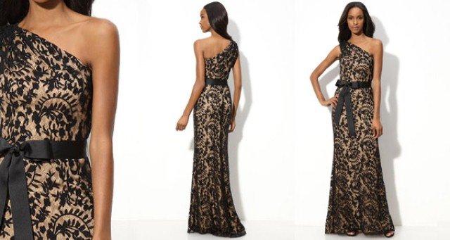 uzun dantel abiye elbise modelleri