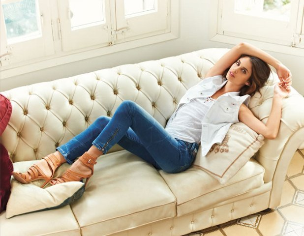 mavi Skinny jean pantolonlar