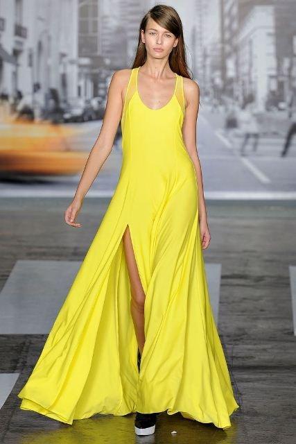 dkny abiye elbise modeli