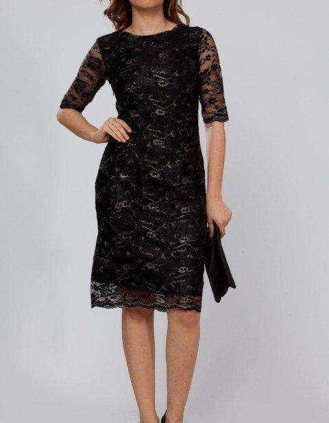 roman dantel elbise
