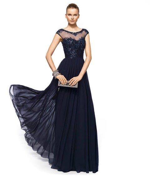 payetli abiye elbise