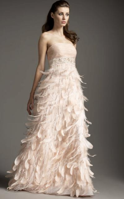 uzun straplez abiye elbise modeli