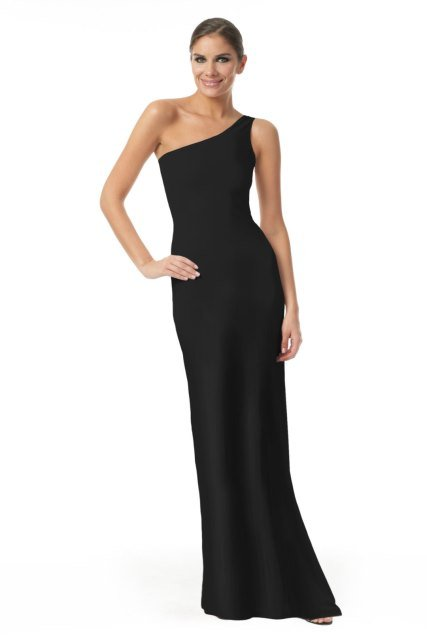 calvin klein siyah elbise