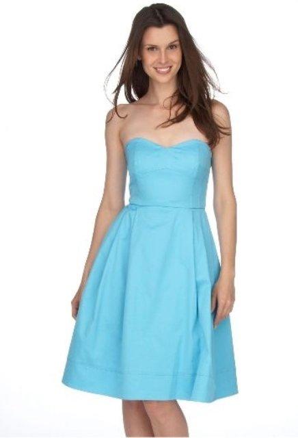 calvin-klein streplez elbise