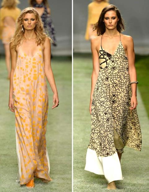 2014 ilkbahar yaz elbise modelleri - Topshop uzun elbise modeli