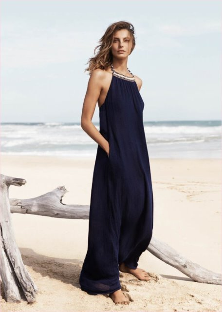 mango uzun elbise modeli