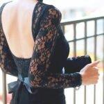 dantel-sirt-dekolteli-elbise