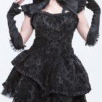 kadife-gotik-elbise-modeli