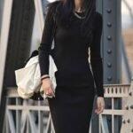 zara siyah elbise modeli