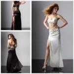 uzun abiye elbise modeli