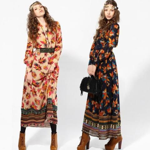 Bohem Elbise Modelleri