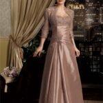 bolerolu abiye elbise modeli