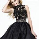 dantel abiye elbise modeli