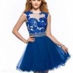dantelli abiye elbise modeli
