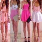 renkli elbise modelleri